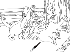 Snoopy Online Coloring