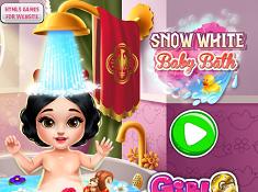 Snow White Baby Bath