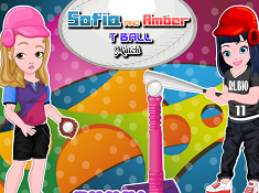 Sofia And Amber T Ball Match