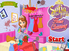 Sofia the First House Cleaning
