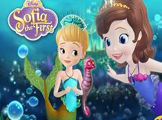 Sofia The First Mermaid Princess