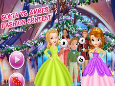 Sofia Vs Amber Fashion Contest