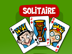 Solitaire With Mr Bean