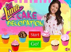 Sou Luna Cake Decoration