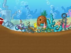 Spongebob Cycle Race
