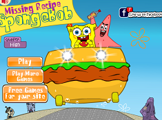 Spongebob Missing Recipe