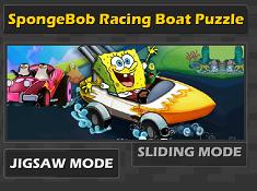 Spongebob Racing Boat