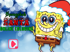 Spongebob Santa Online Coloring