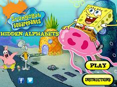 Spongebob Squarepants Hidden Alphabets