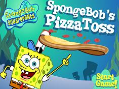 Spongebobs Pizza Toss
