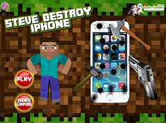 Steve Destroy Iphone