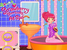 Strawberry Shortcake at Spa