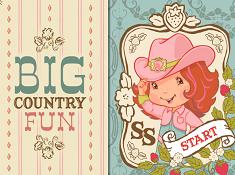 Strawberry Shortcake Big Country Fun