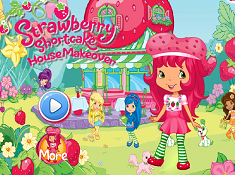 Strawberry Shortcake House Makeover