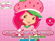 Strawberry Shortcake Puzzle Set