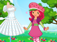 Strawberry Spring Dress
