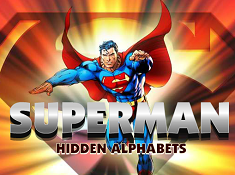 Superman Hidden Alphabets