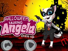 Talking Angela Halloween Dress Up