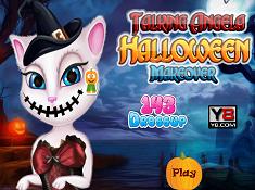 Talking Angela Halloween Makeover