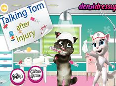 Talking Tom After Injury