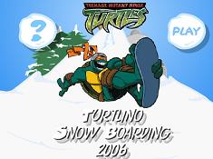 Teenage Mutant Ninja Turtles Snowboarding