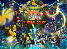Teenage Mutant Ninja Turtles vs Power Rangers Ultimate Hero Clash