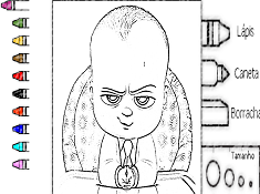 The Boss Baby Coloring