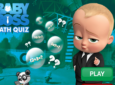 The Boss Baby Math Quiz