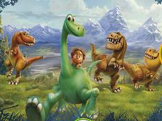 The Good Dinosaur Hidden Numbers
