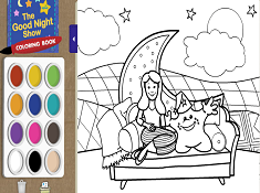 The Good Night Show Coloring Book