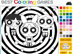 The Powerpuff Girls Online Coloring