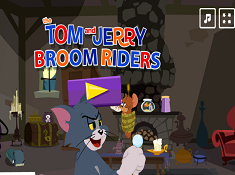 The Tom And Jerry Broom Riders