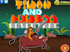 Timon and Pumba Adventure