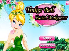 Tinker Bell Facial Makeover