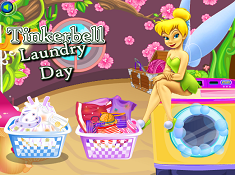 Tinkerbell Laundry Day