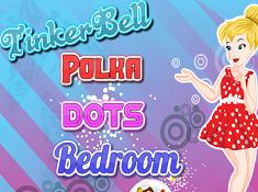 Tinkerbell Polka Dots Bedroom