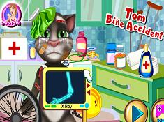 Tom Bike Accident