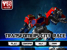 Transformers City Race