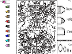Transformers Combiner Wars Coloring