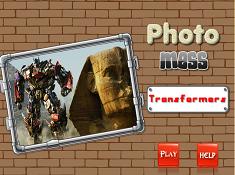 Transformers Photo Mess