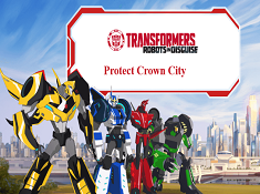 Transformers Protect Crown City