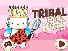 Tribal Hello Kitty