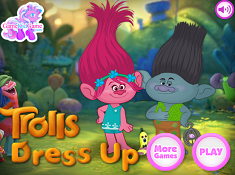 Trolls Dress Up