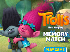Trolls Memory Match