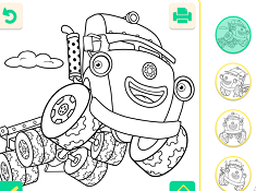 Trucktown Coloring
