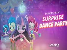 Twilight Sparkles Surprise Dance Party