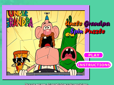 Uncle Grandpa Spin Puzzle