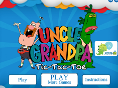 Uncle Grandpa Tic Tac Toe