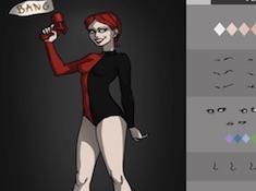 Villain Harley Quinn Dress Up