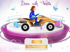 Violetta Driving ATV